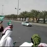 Eskorta króla Abdullaha z Arabii Saudyjskiej