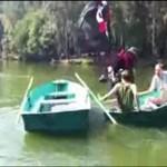 Abordaż na rzece!