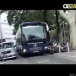 Autobus HSV w Wiedniu- CO ZA NIEZGRABA!