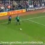 Zabawny gol Ronaldinho