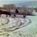Prawdziwy wiejski drift...