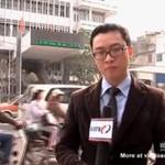 Dziennikarz zapomniał zaciagnąć ręcznego!