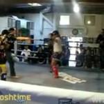 """Tajski boks... """"NA ŚLEPO"""""""