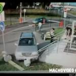 Roztrzaskał auto!