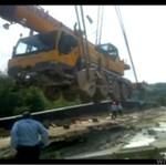 Rosja - wypadek na budowie