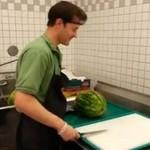 Krojenie arbuza w mniej niż 30 sekund