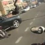 Szalony wypadek motocyklowy - ROSJA