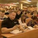Pudzian na studiach