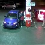 Rabunek na stacji benzynowej