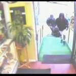 Piesek broni sklepu przed napadem!