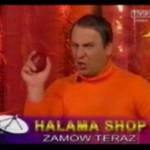 Grzegorz Halama w parodii TV - shopów