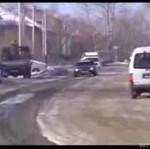 Drift z policją na ogonie!