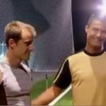 Cristiano Ronaldo vs profesjonalny sprinter