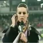 Reporterka oberwała W GŁOWĘ piłką!