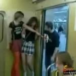 Awantura w metrze!