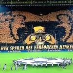 Świetna oprawa meczu w Dortmundzie