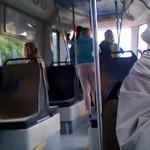 Gimnazjalistki biją się w tramwaju!