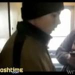 Wyskoczył z rosyjskiego pociągu!