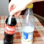 Cola i mleko - wiesz, co powstanie?