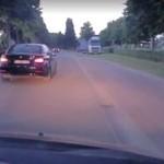 BELGIA: kierowca koniecznie chciał bójki!