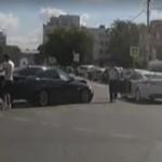 Rosja - awantura kierowców z udziałem... BRONI!
