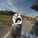 Awantura o motocykle - z policją!