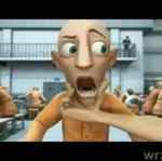 Animacja przedstawiająca życie w więzieniu