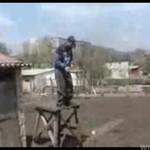 Parkour w wersji ruskiej - NA DRZEWACH!