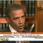 Obama śpiewa o plamie ropy- HIT!