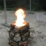 2 000 ping pongów w ogniu