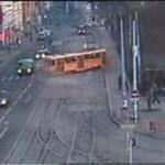 Wypadek tramwajowy