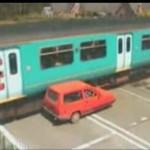 Dziadku, pociąg ma pierwszeństwo!