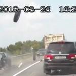 NIEWIARYGODNY wypadek na drodze!