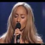 "Leona Lewis rzuca na kolana - ""Run"""