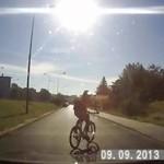 Bezmyślni rowerzyści
