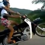 Kaskaderski duet motocyklowy