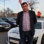 """""""Fuck you Fiskus"""" - akcja protestacyjnaAuto Białołęka"""