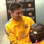 Rozpoznał piłkarzy ukochanej drużyny...