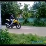 Motocyklista spowodował wypadek!