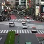 Przejście dla pieszych w Japonii