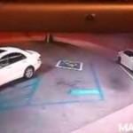 Wredny kierowca - stuknął i uciekł!