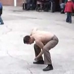 Breakdancer pod wpływem