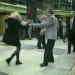 Pijani Rosjanie tańczą