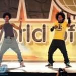 Szalony taniec braci bliźniaków - WOW!