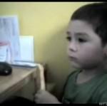 Trzylatek ogląda śmierć bohatera kreskówki - wzruszające!
