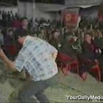 Hardcoreowy tancerz