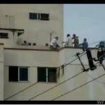 Strażak uratował kobietę przez samobójstwem!
