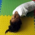 Dziewczynka z Peru - bez rąk i bez nóg