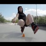 Piękne dziewczyny w skateparku w Rzeszowie