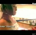 Panna młoda na ringu?